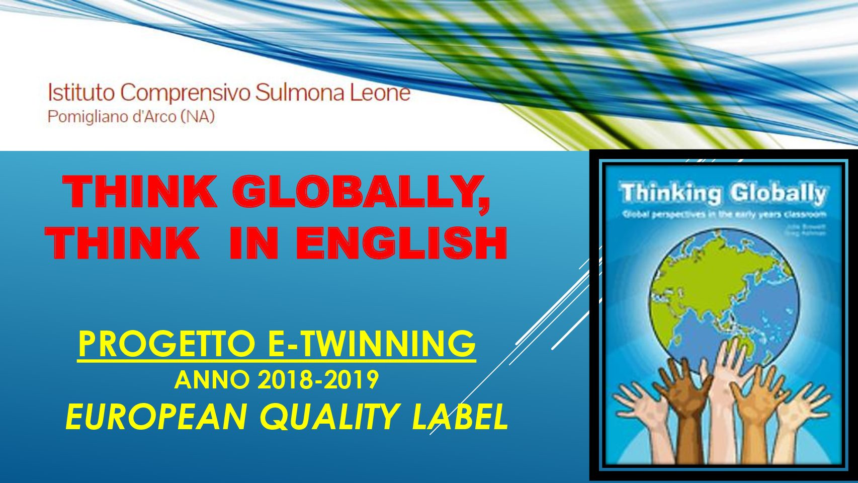 Think GLOBALLY, Think in ENGLISH